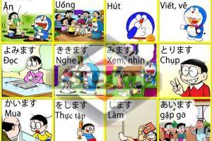 Học tiếng Nhật bằng hình ảnh bài 1 – Thanh Giang Conincon