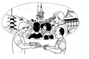 Hội thoại tiếng Nhật – bài 12