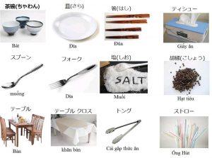 từ vựng tiếng Nhật chủ để nhà bếp