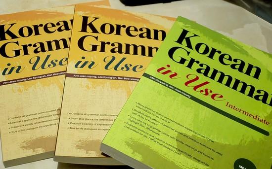 ghi nhớ ngữ pháp tiếng Hàn